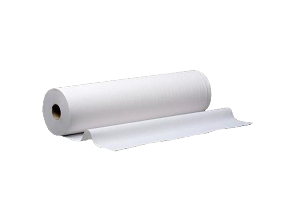 Rollo de papel camilla NB color blanco
