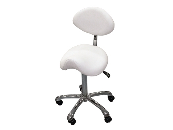 Taburete Ergonómico Giratorio regulable con Respaldo 1025 SF