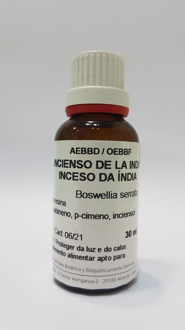 Aceite Esencial Aroms Natur Incienso de la India Bio 30 ml